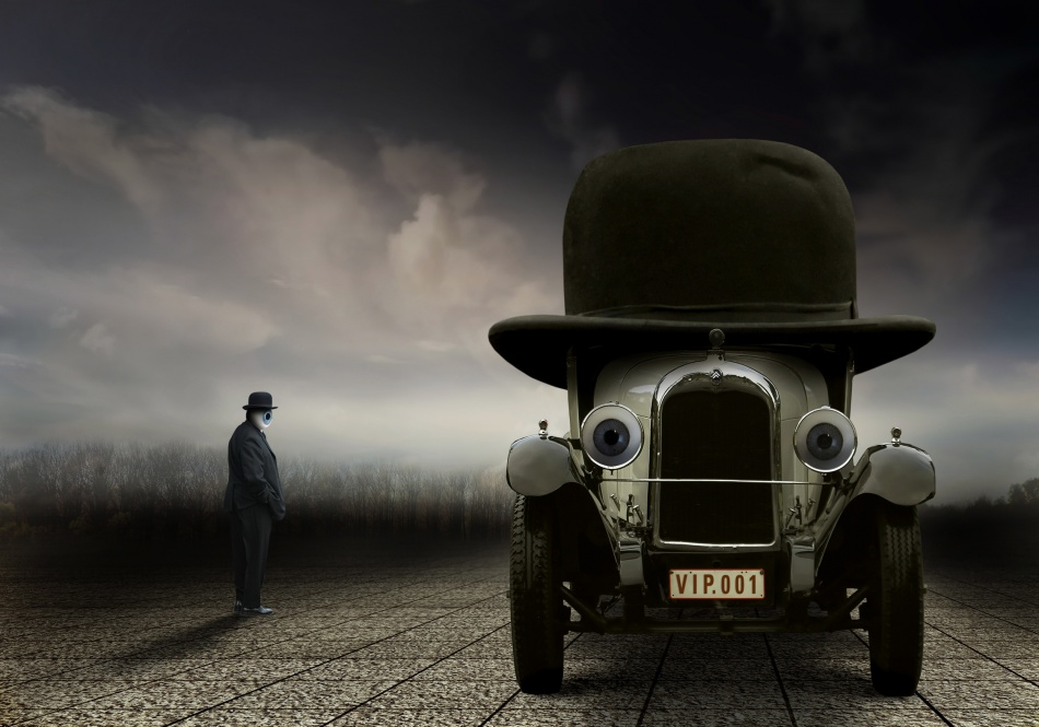 A piece of fine art art photography titled Vip by Ben Goossens