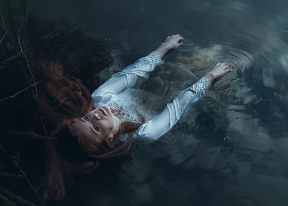 A piece of fine art art photography titled Calm by Adam Gębora