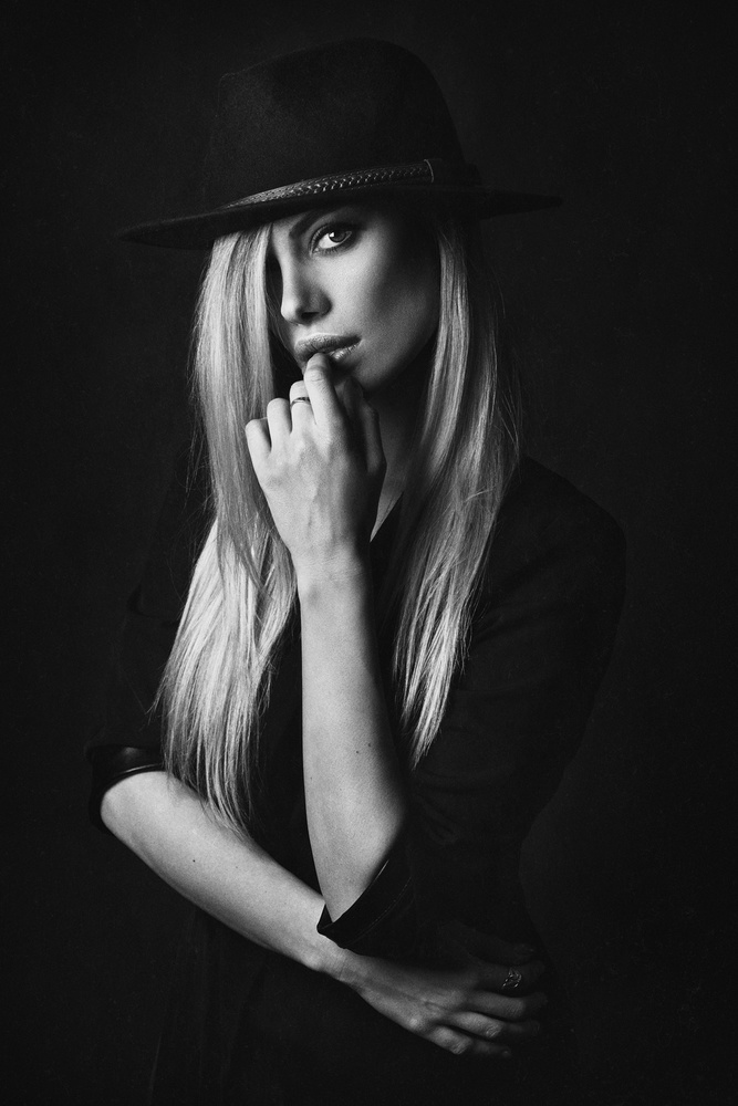 A piece of fine art art photography titled Alena by Zachar Rise