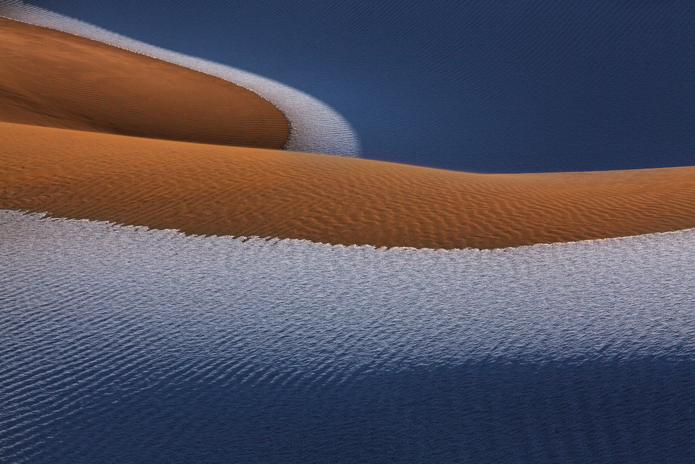 A piece of fine art art photography titled The Desert by UU