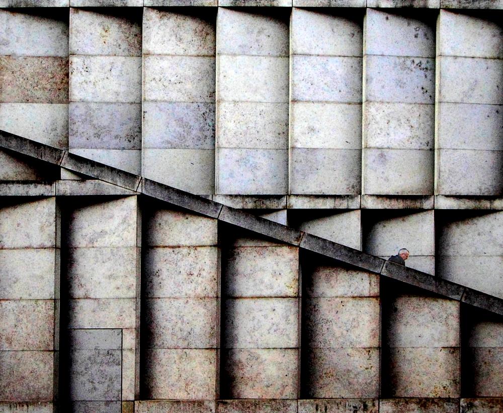 A piece of fine art art photography titled Modulated Structure by Marek Patt