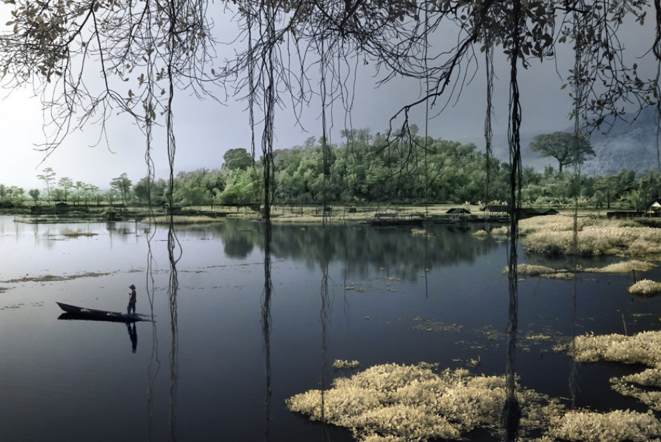A piece of fine art art photography titled Fisherman Fairy Tale by Adji Nugroho; ad7ee