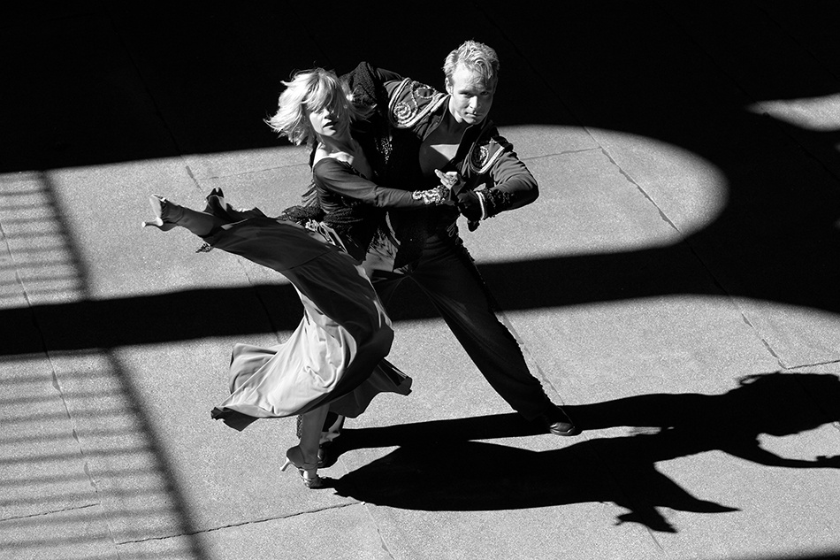 A piece of fine art art photography titled The Dance by Andreas-Joachim Lins