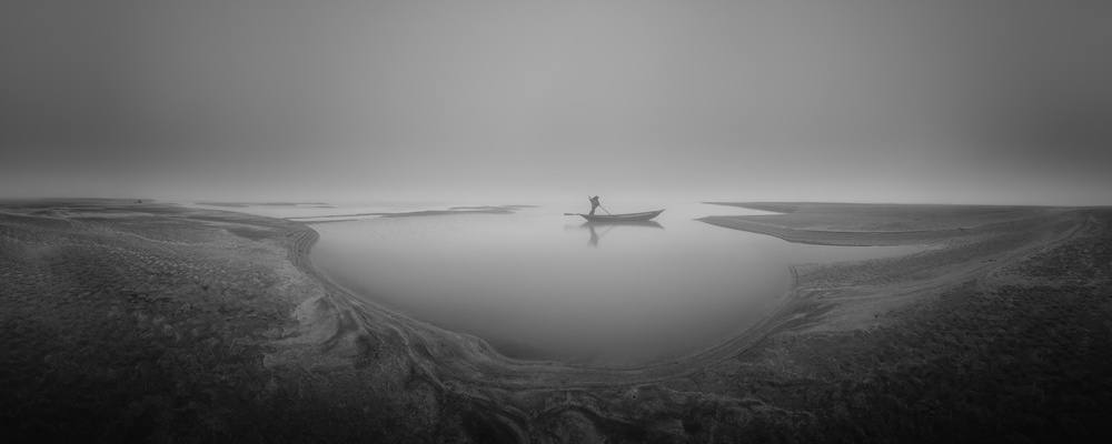 A piece of fine art art photography titled Lonely by Mohammad Rahman