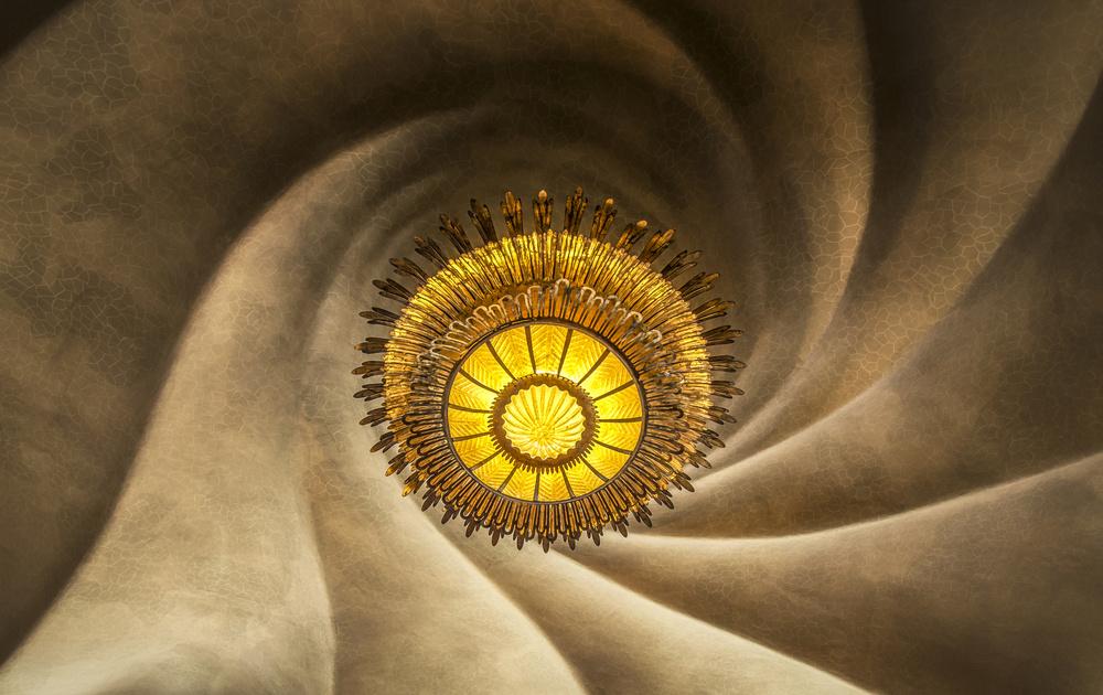 A piece of fine art art photography titled Casa Batlló by Ole Moberg Steffensen