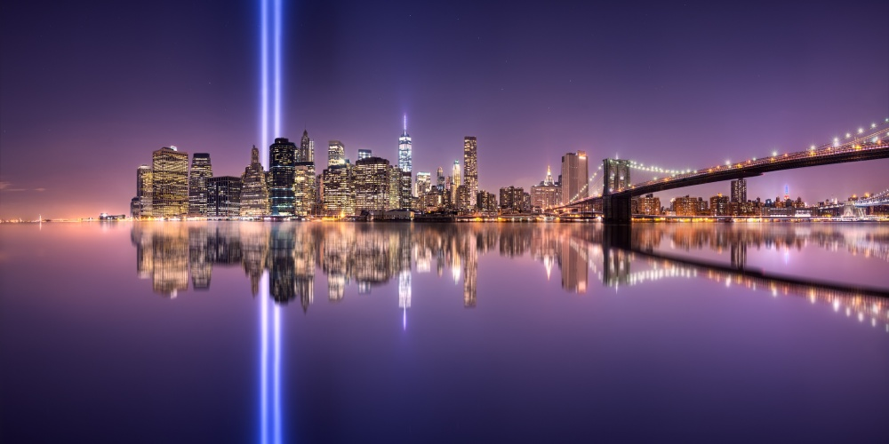 A piece of fine art art photography titled In Memorial III September 11 by Jesús M. García