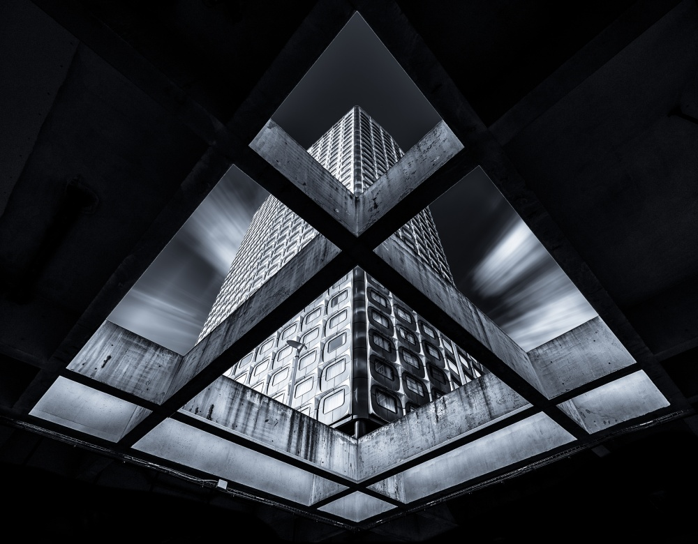 A piece of fine art art photography titled Diamond by charly lataste