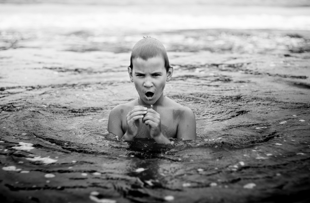 A piece of fine art art photography titled Breathe by Tihomir Dimitrov