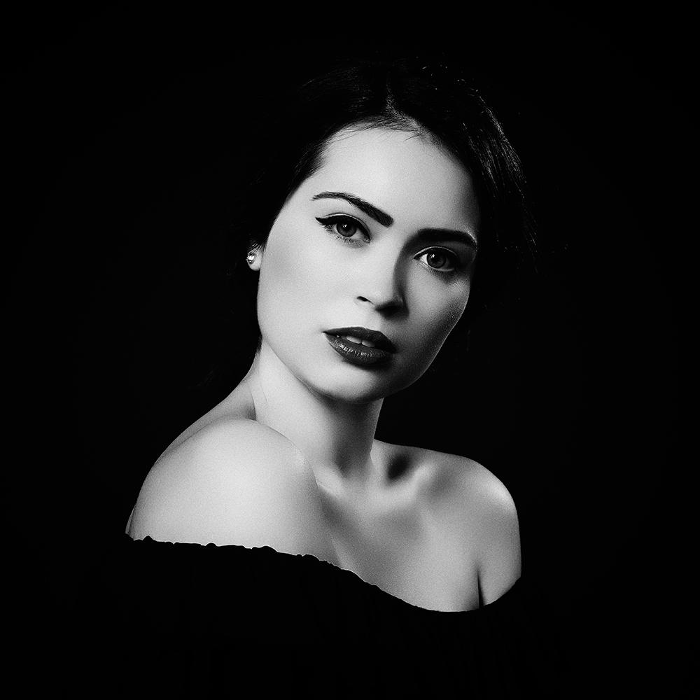 A piece of fine art art photography titled Diana by alexandra fira