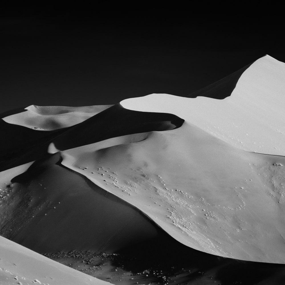 A piece of fine art art photography titled Abstract Dunes by Mathilde Guillemot