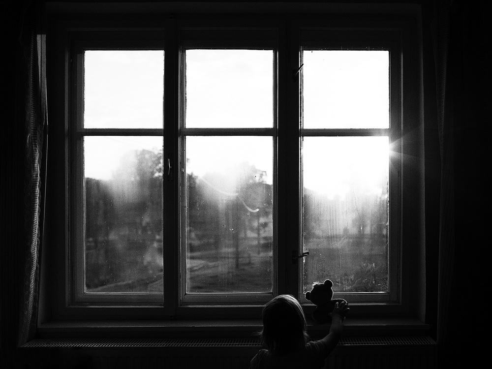 A piece of fine art art photography titled Dear Bear by Kristina Oveckova