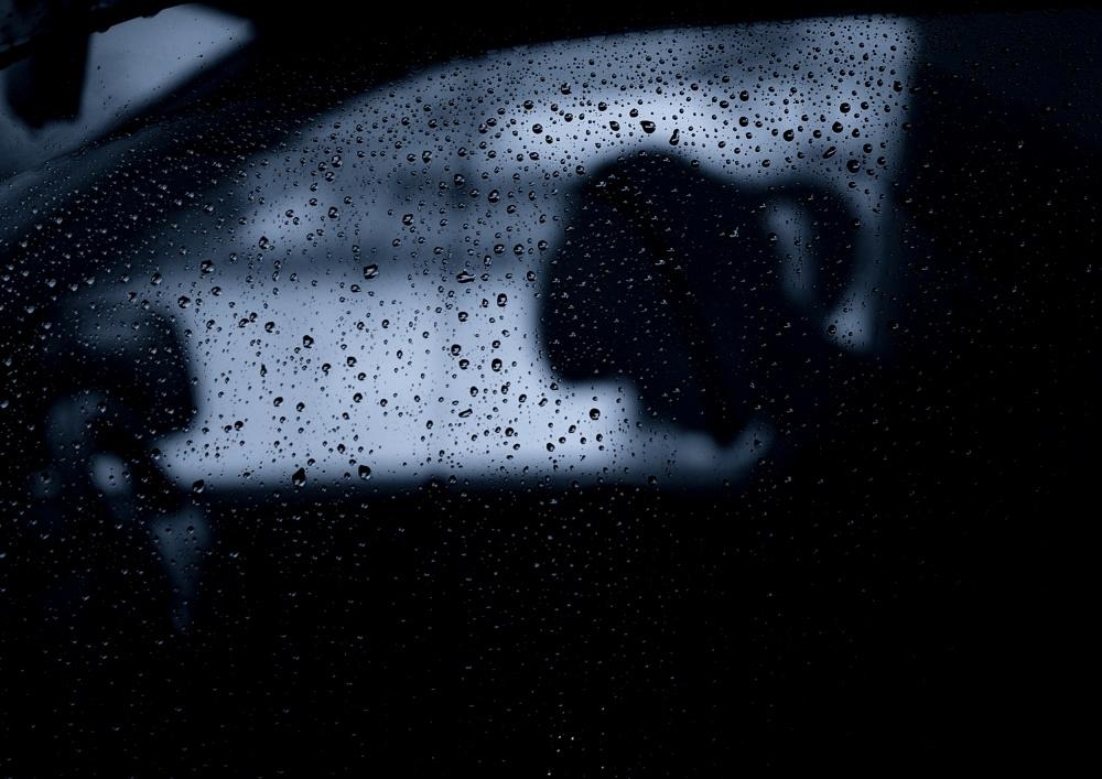 A piece of fine art art photography titled Rain by Koji Sugimoto