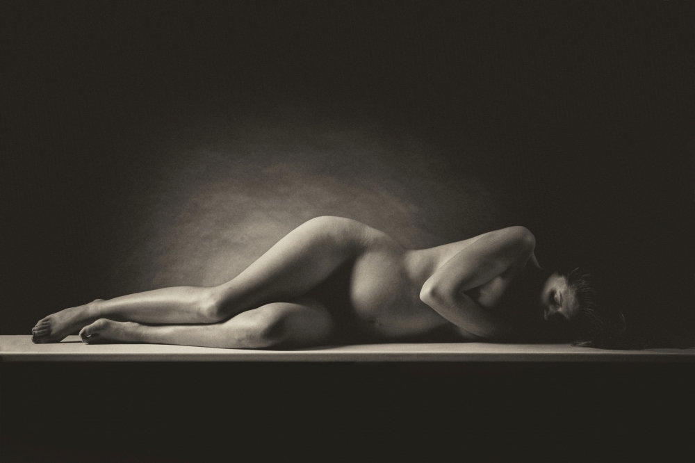 A piece of fine art art photography titled Pregnancy by Carl Gamaz