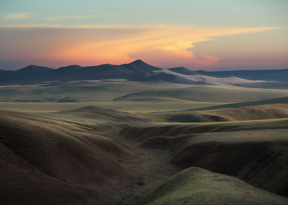 A piece of fine art art photography titled The Hulunbuir Prairie by Shanyewuyu