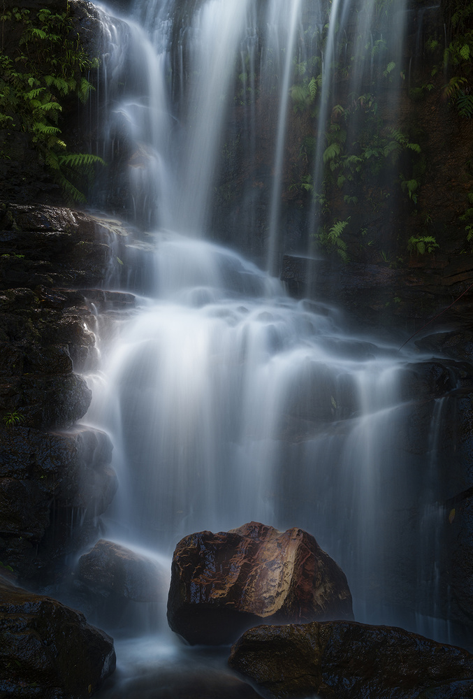 A piece of fine art art photography titled Edith Falls by Yan Zhang
