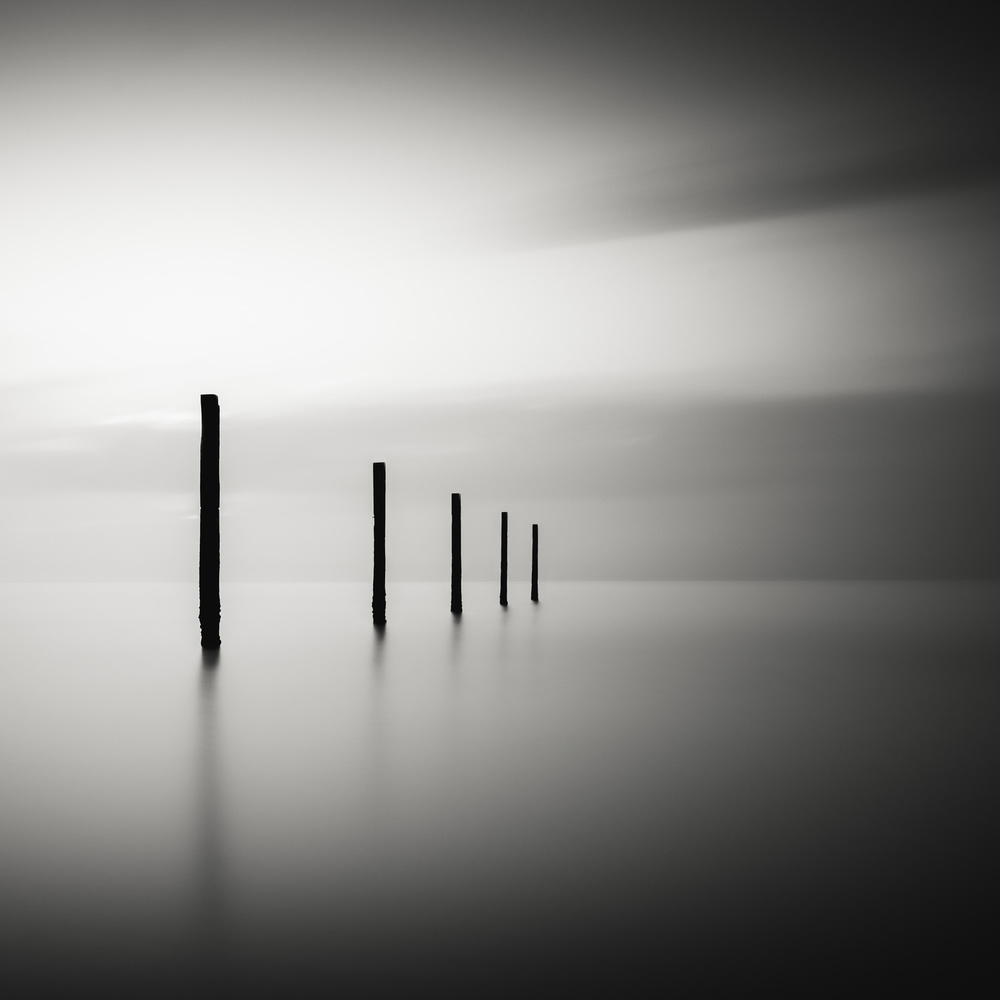A piece of fine art art photography titled V by Christophe Staelens
