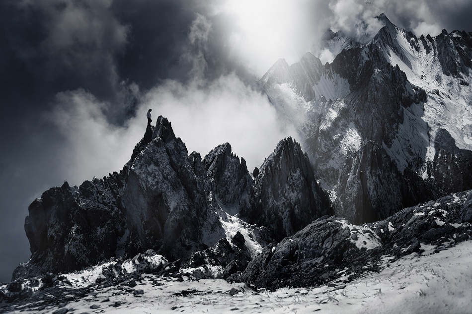 A piece of fine art art photography titled Dolomit by Nicolas Schumacher