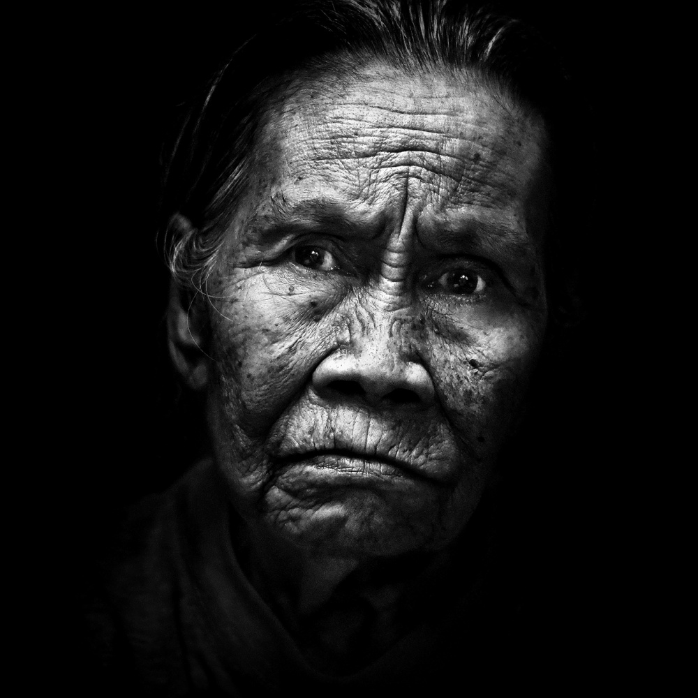 A piece of fine art art photography titled My Grandmother by abi Danial