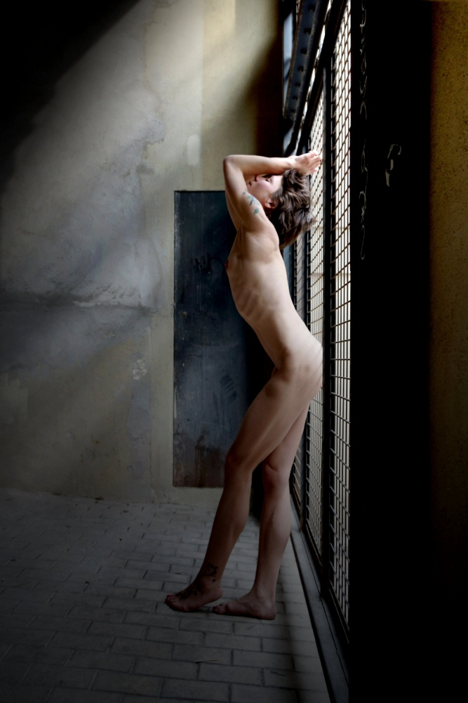 A piece of fine art art photography titled Light Seeker by Olga Mest