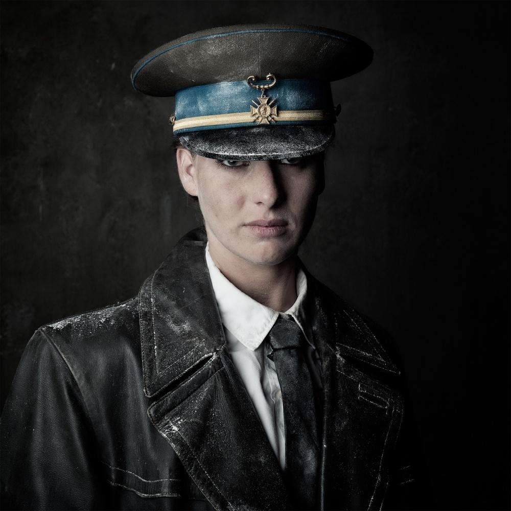 A piece of fine art art photography titled Unforsaken by Jack Burger
