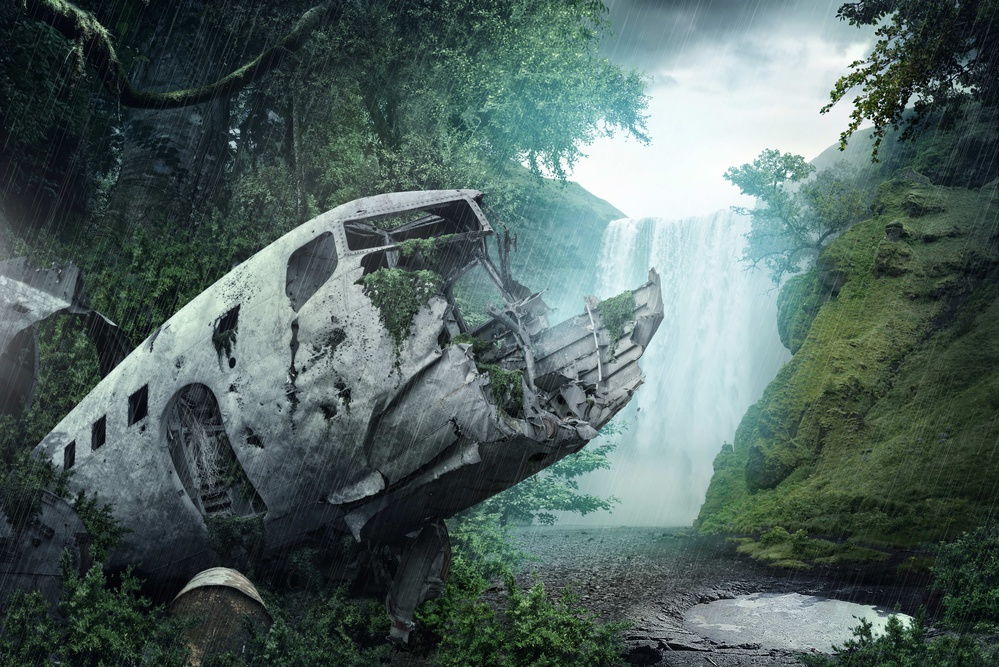 A piece of fine art art photography titled Wreckage by Luis Louro