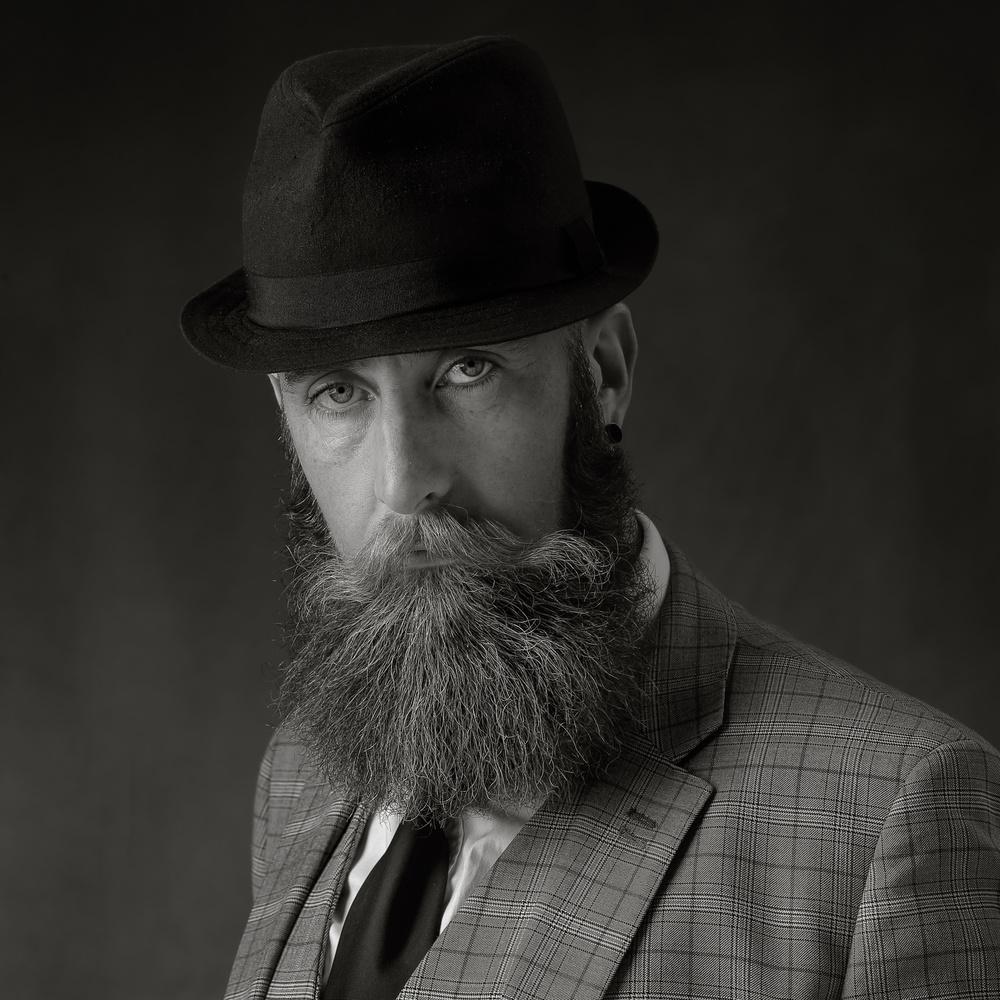 A piece of fine art art photography titled Top Man by Hugh Wilkinson