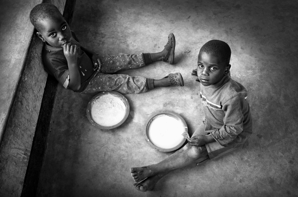A piece of fine art art photography titled Daily Dose of Porridge by Marc Apers