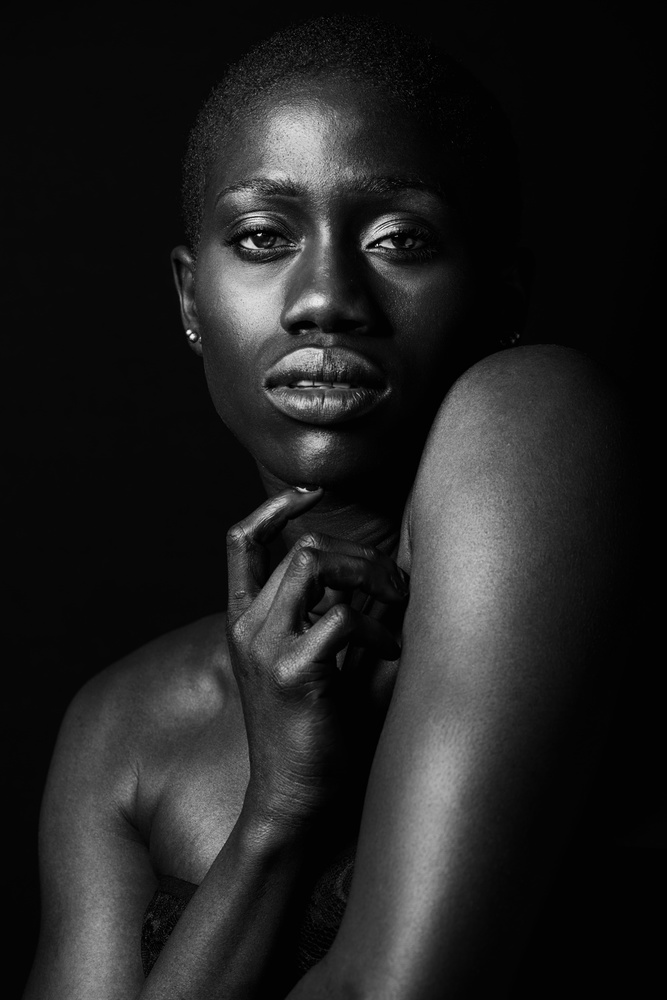 A piece of fine art art photography titled Kesandra by Axel K. Schoeps