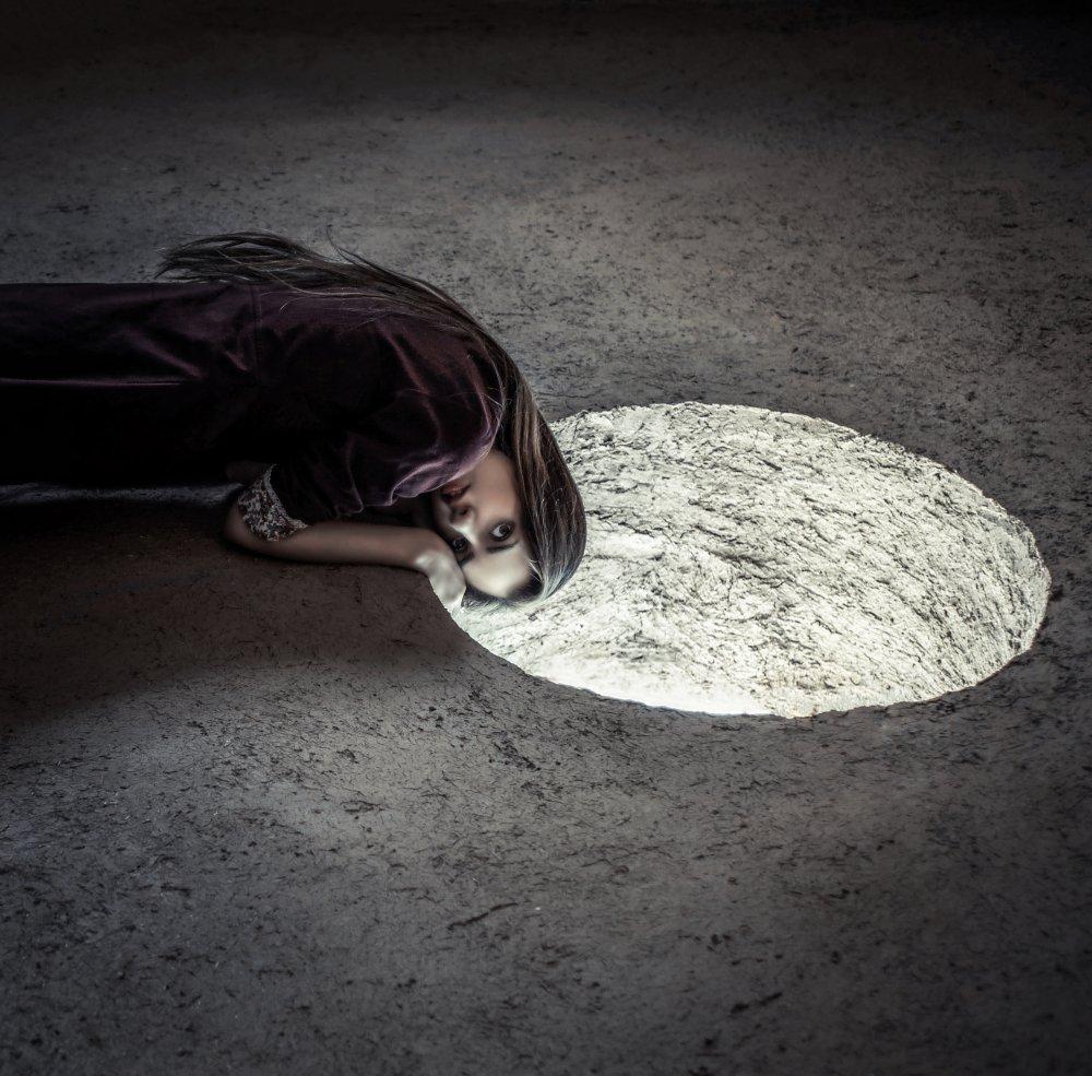 A piece of fine art art photography titled Malagueña by Peyman Naderi