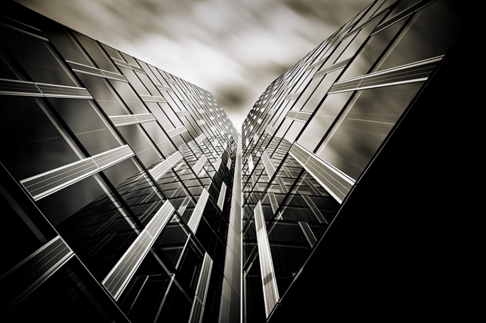 A piece of fine art art photography titled Verticals #16 by Arkadius Zagrabski