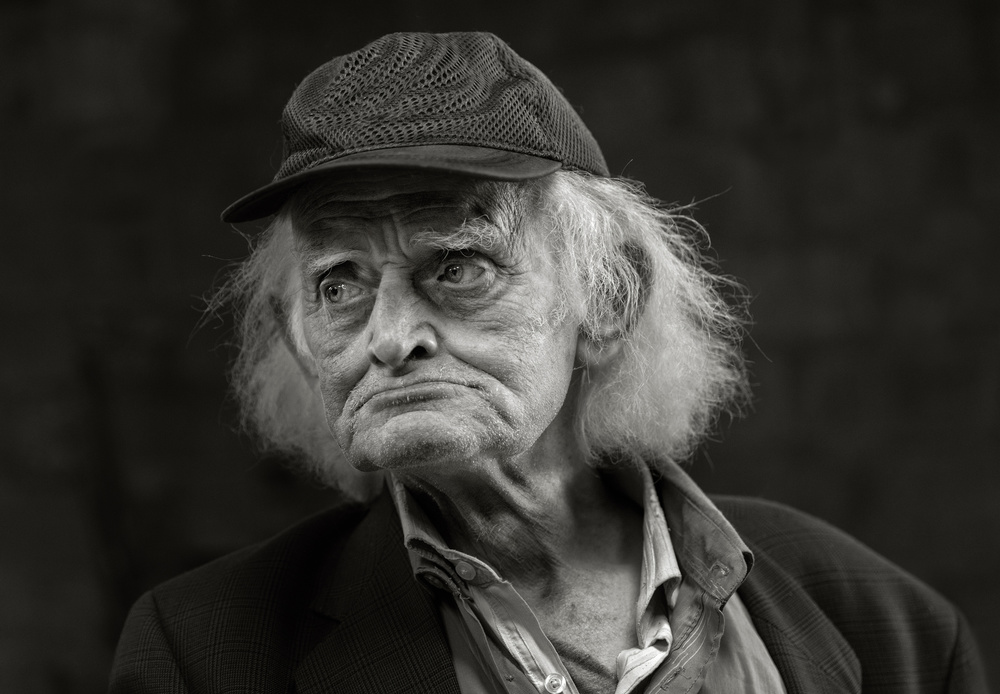 A piece of fine art art photography titled I'm 93 by Hugh Wilkinson