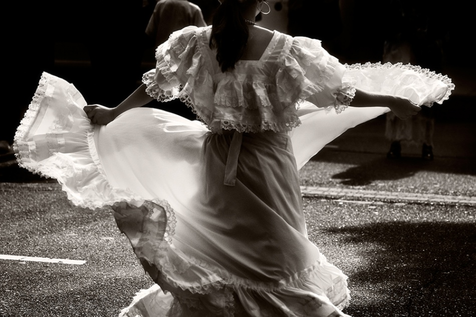 A piece of fine art art photography titled Dance by Tracy Martin