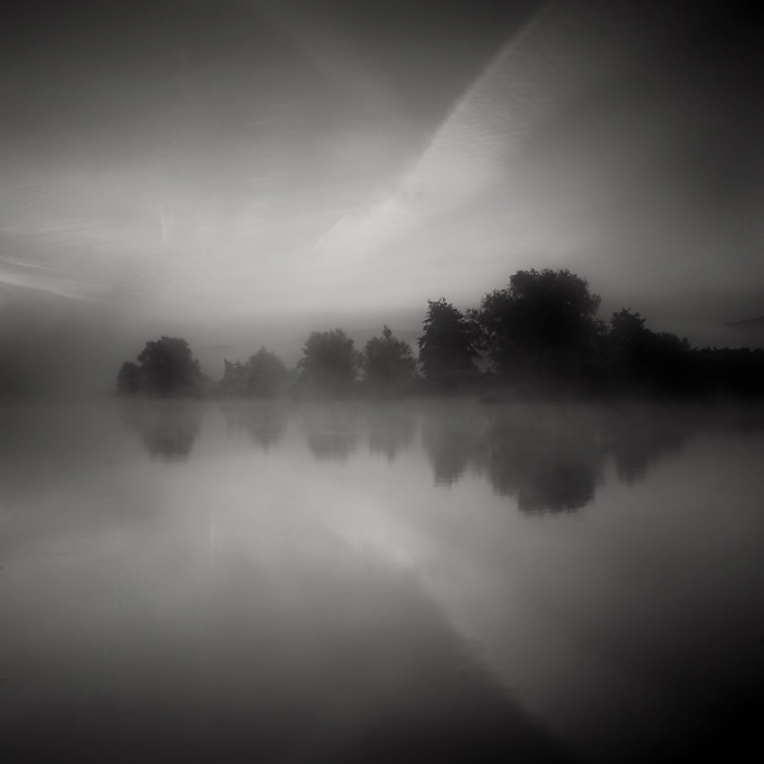 A piece of fine art art photography titled Ruhr River by Waldemar Wienchol