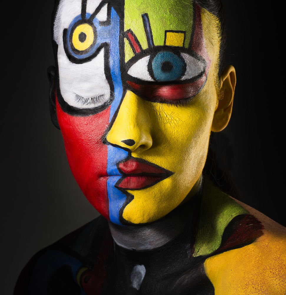 A piece of fine art art photography titled Tribute to Mr Picasso by Ketil Born