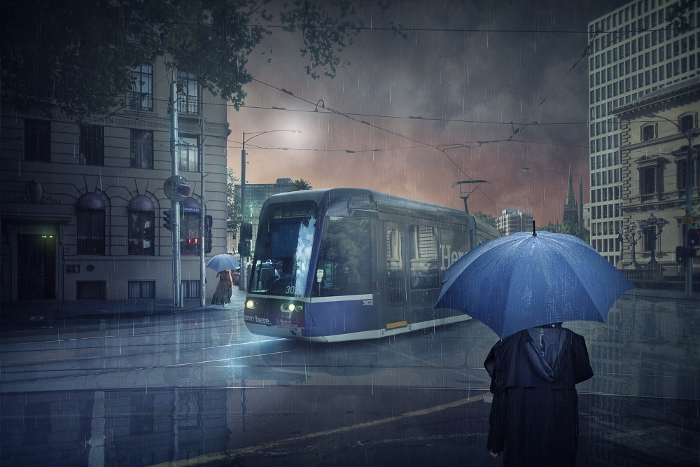 A piece of fine art art photography titled The Long Goodbye 5 by Adrian Donoghue