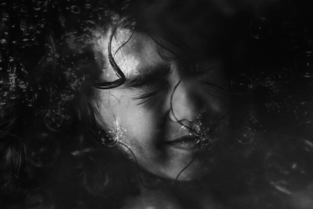 A piece of fine art art photography titled Beneath by Marian Korte