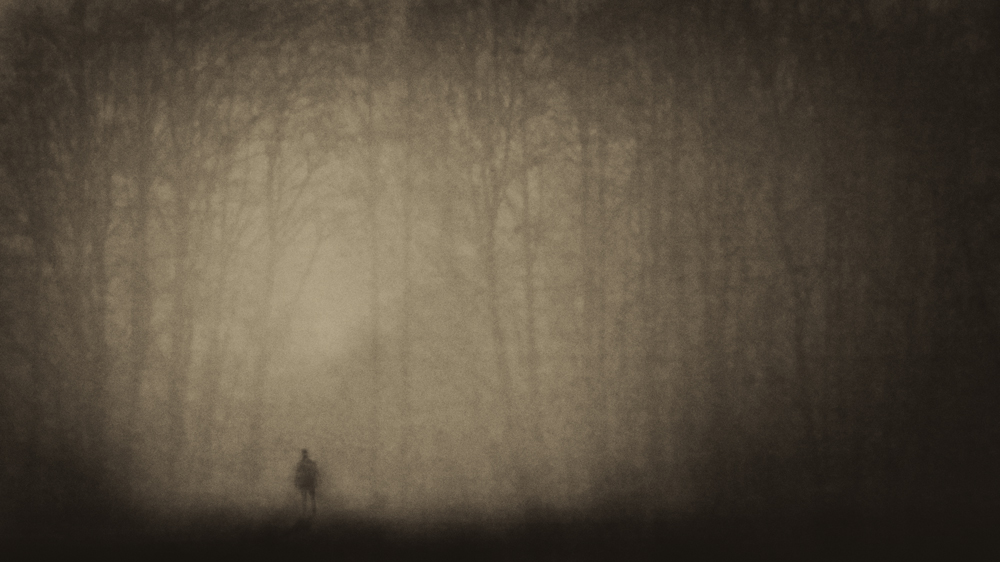 A piece of fine art art photography titled Without You by Gabriel Bistriceanu