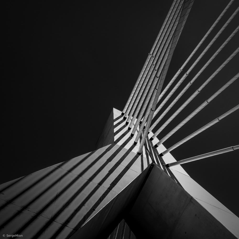 Pont de la Poya fribourg Switzerland