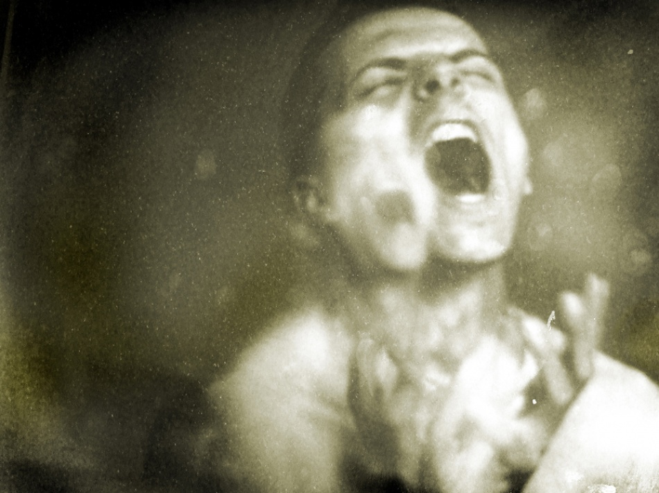 A piece of fine art art photography titled Last Scream by Chiriloi Catalin