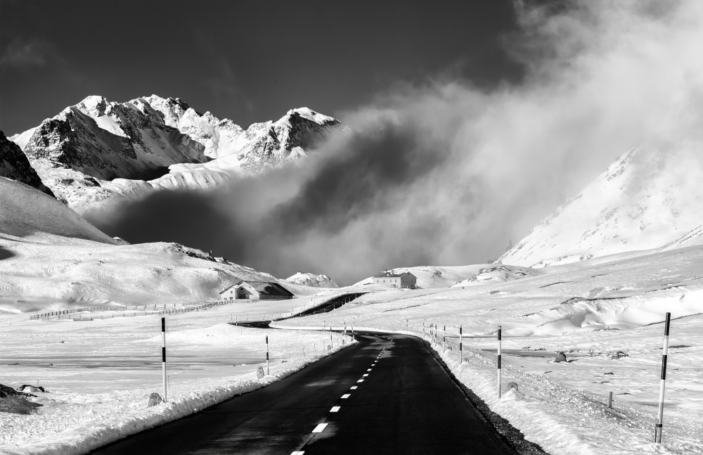 A piece of fine art art photography titled  Venturing Into the Unknown by Alfredo Costanzo