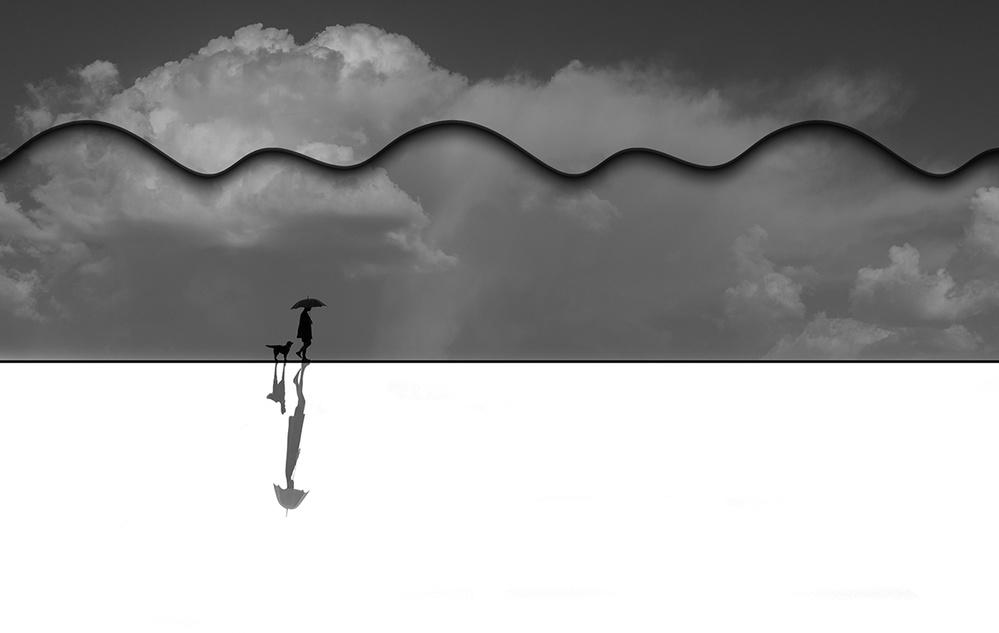 A piece of fine art art photography titled Rain by Natalia