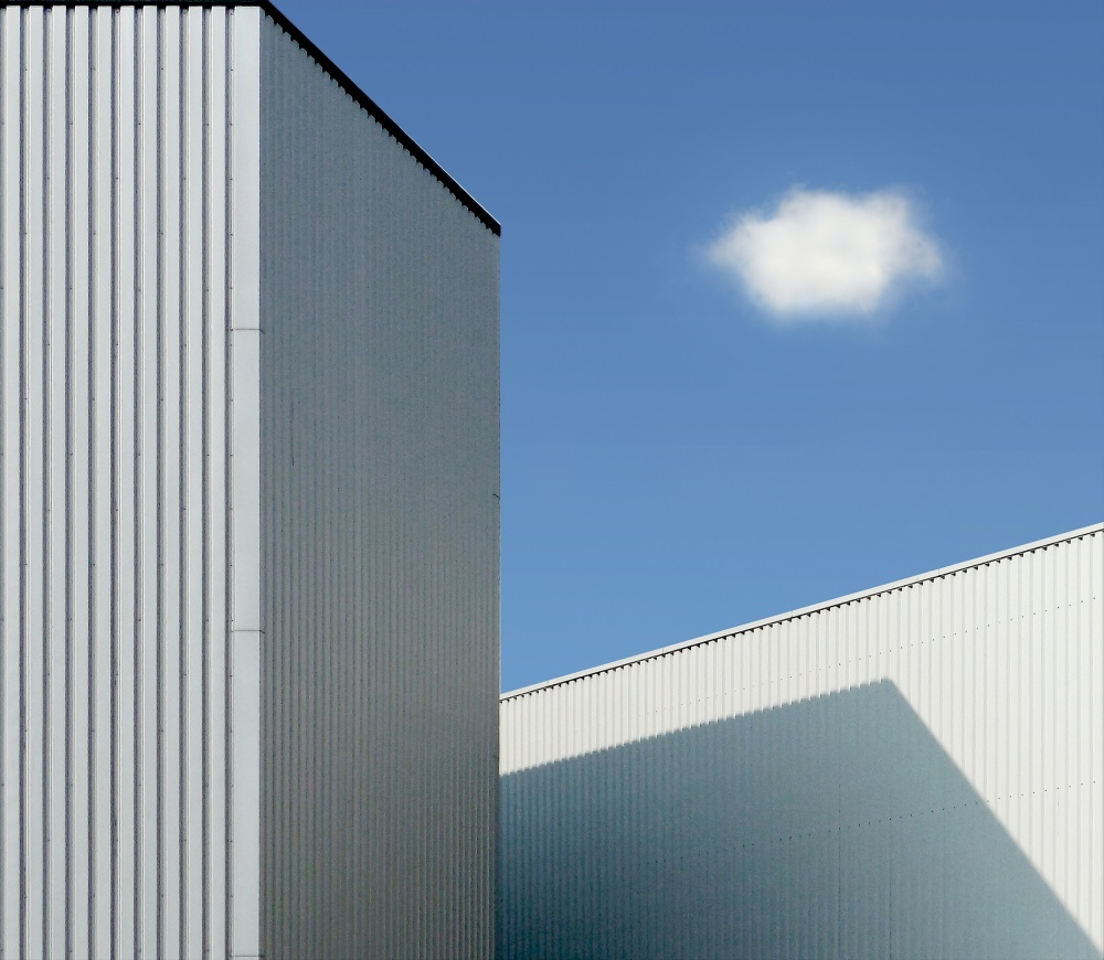 A piece of fine art art photography titled Cloud by Henk van Maastricht
