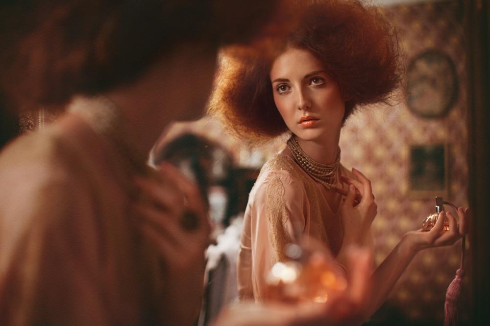A piece of fine art art photography titled Perfume by Bibiana Ruzickova