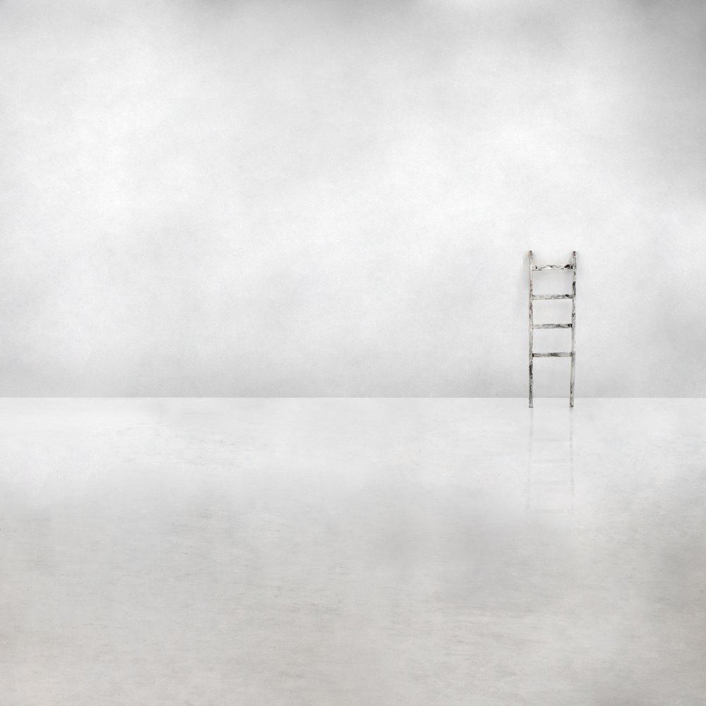 A piece of fine art art photography titled The Social Ladder by Gilbert Claes