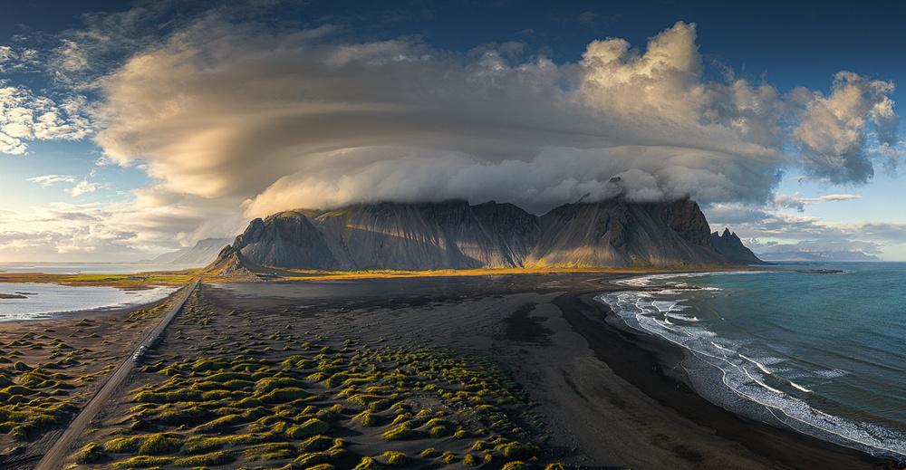 Stormy Vestrahorn
