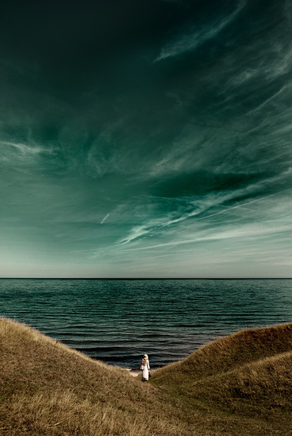 A piece of fine art art photography titled Endless Sea by Kristoffer Jonsson
