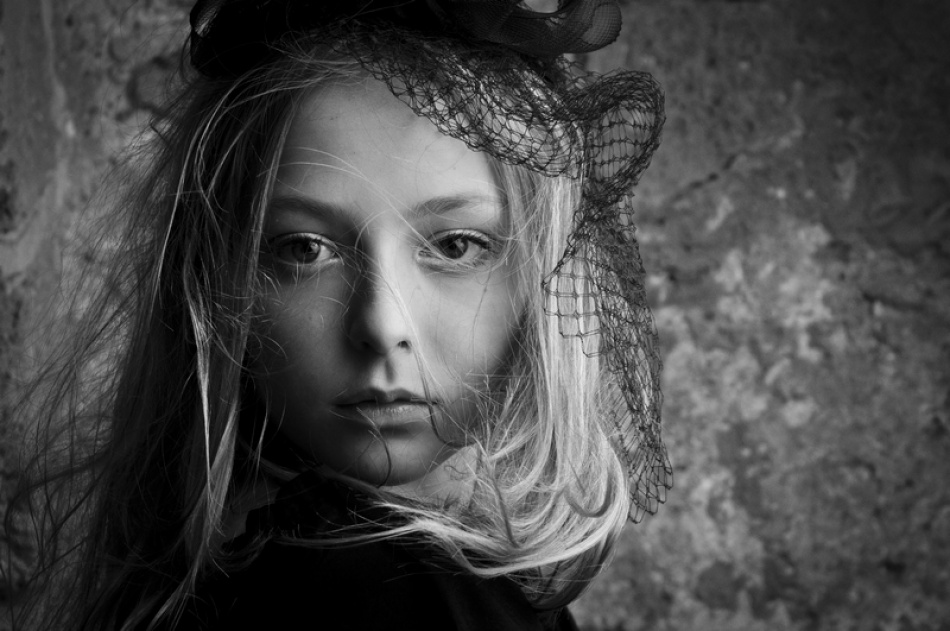 A piece of fine art art photography titled Marie Melnikova by Tomer Jacobson