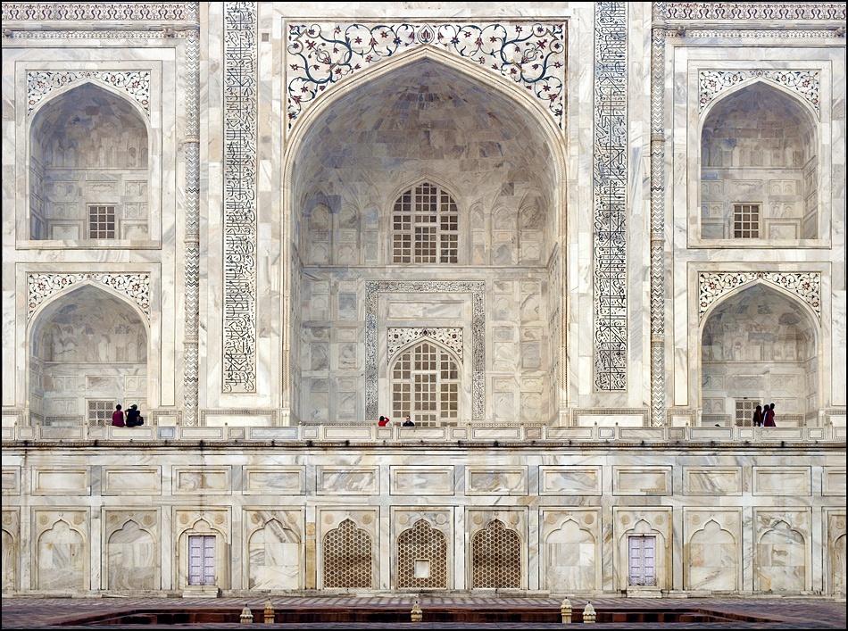 A piece of fine art art photography titled Taj Mahal by sensorfleck