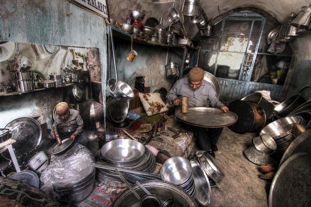 A piece of fine art art photography titled  Craftsman by Emine Basa