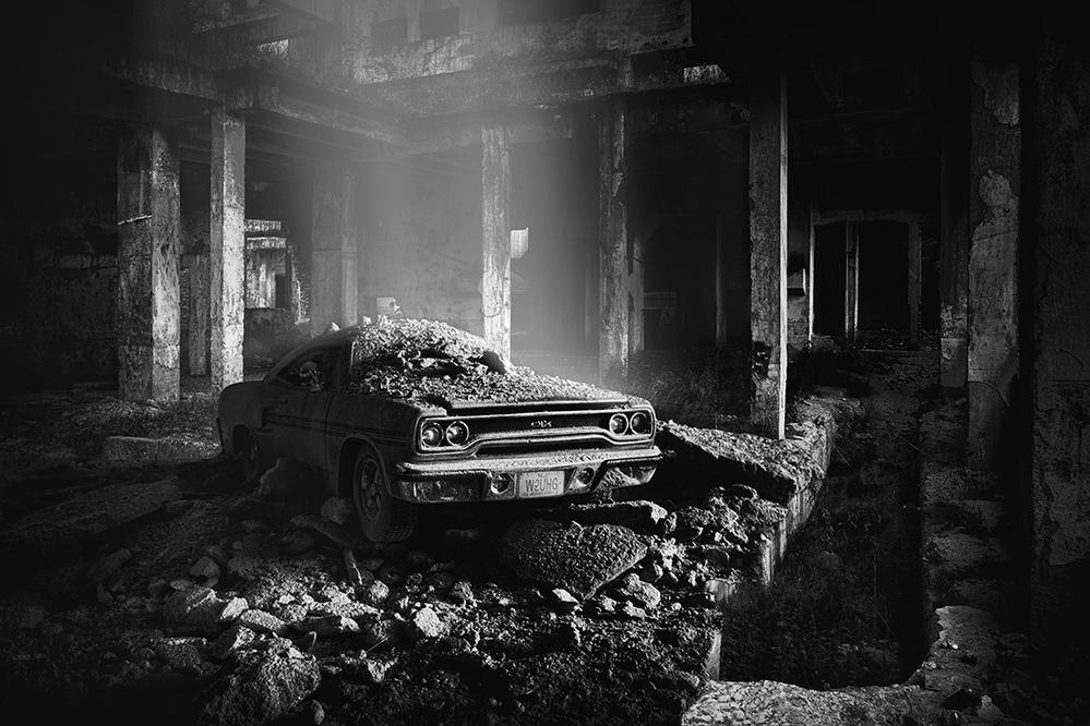 A piece of fine art art photography titled Plymouth by Vladimír Takáč